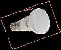 ŻARÓWKA LED NEXTEC R39 E14 8xSMD5630 4W 300lm 230V Mleczna, Biały ciepły